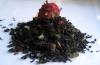 Tefrossas Hallontryffel - svart te