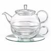 Tea-for-one set Lucas i glas