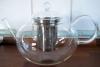 Tekanna i glas med stålsil - 2 liter