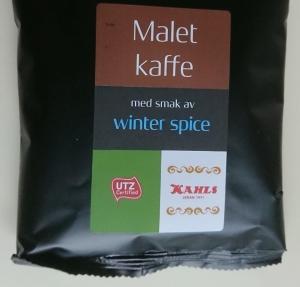 Winter Spice Julkaffe - malet 120 g