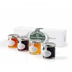 Tiptree Four Special Preserves - 4 olika marmelader