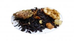 Valnötskaka  med fikon - svart te