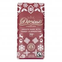 Divine Mörk Choklad med Syrlig Clementin